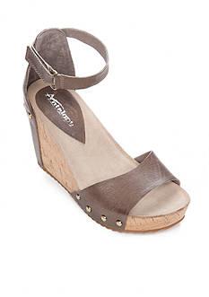 Antelope Ankle Strap Wedge Sandal