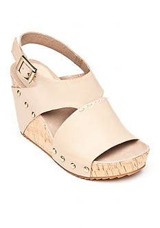 Antelope Slingback Wedge Sandals