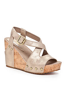 Antelope Criss Cross Wedge Sandal