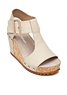 Antelope T-Strap Buckle Wedge Sandal