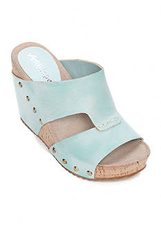 Antelope Two Band Slide Sandal