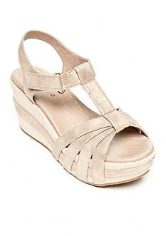 Antelope T-Strap Wedge Sandal
