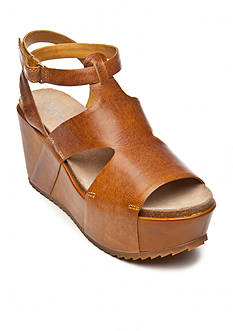 Antelope Caged Covered Wedge Sandal