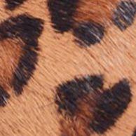 Classic Pumps: Dark Brown Leopard Pony / Patent/Black Suede Nicole Miller Grace Shoe