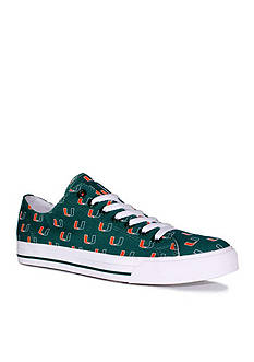 Row One Brands Unisex University of Miami Low Top Shoes