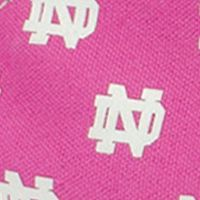 Tennis Shoes for Women: Medium Pink Row One Brands University of Notre Dame Low Top