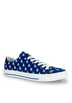 Row One Brands Unisex MLB Los Angeles Dodgers Low Top Shoe