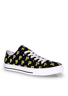 Row One Brands Unisex MLB Pittsburgh Pirates Low Top Shoe