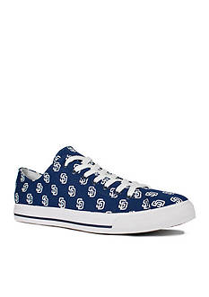 Row One Brands Unisex MLB San Diego Padres Low Top Shoe