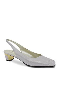 JRenee Bev Slingback Pump-Extended Sizes Available