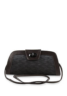 J Reneé Pleated Satin Handbag