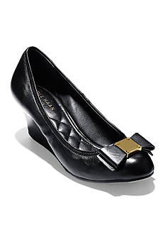 Cole Haan Tali Grand Bow Wedge Pump - Available in Extended Sizes
