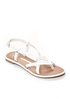New Directions Juliana Strappy Flat Sandal