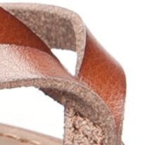 New Directions Shoes Sale: Cognac New Directions Juliana Strappy Flat Sandal