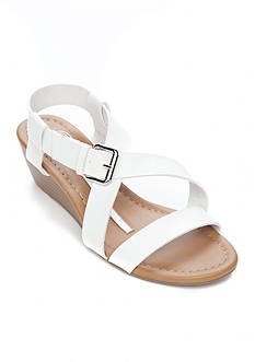 New Directions Sparrow Strappy Wedge Sandal