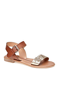 New Directions Betty Glitter Sandal
