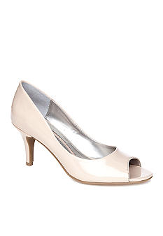 New Directions Perlla Peep Toe Pump