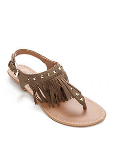 New Directions Melody Fringe Sandal