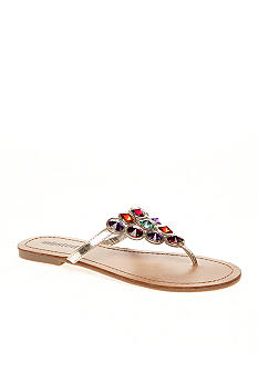 UNLISTED Pop Of Gold Sandal