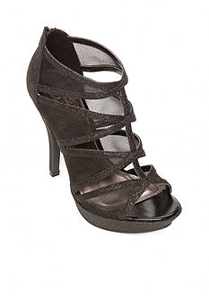 UNLISTED Happy Hour Mesh Glitter Sandals