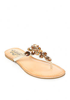UNLISTED Modern Coin Thong Sandals