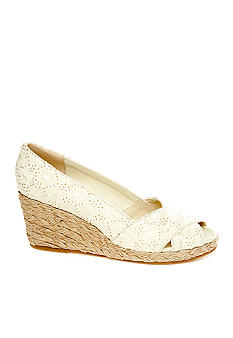 Rampage Adorer Peep-toe Wedge