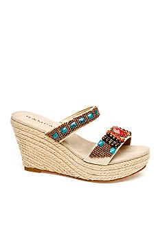 Rampage Braidella Wedge Sandal