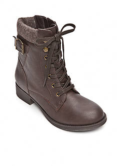 Rampage Jem Combat Lace-Up Booties