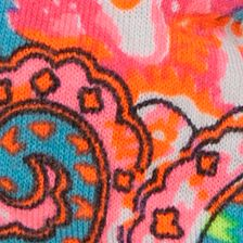 Flat Sandals for Women: Orange     Paisley Rampage Ramjojo Sandal