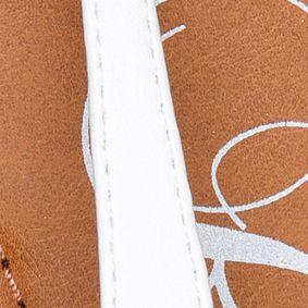 Flat Sandals for Women: White Rampage Ricksie Sandal