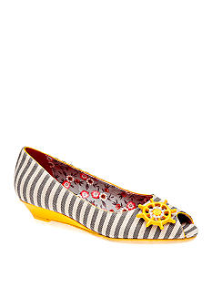 Poetic Licence Anchors Away Peeptoe Wedge