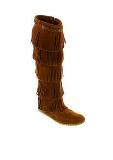 Minnetonka 5-Layer Fringe Boot
