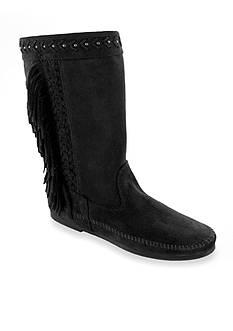 Minnetonka Luna Fringe Boots