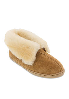 Minnetonka Sheepskin Bootie Slipper