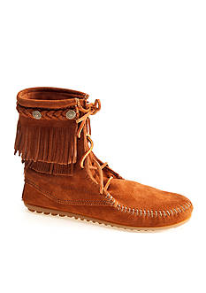 Minnetonka Double Fringe Tramper Boot