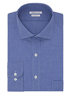 Van Heusen Classic-Fit Tattersall Dress Shirt