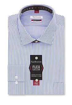 Van heusen wrinkle free regular fit flex collar dress for Van heusen shirts flex collar