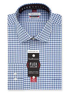 Van Heusen Wrinkle Free Flex Collar Dress Shirt