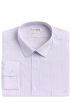 Van Heusen Wrinkle-Free Check Dress Shirt