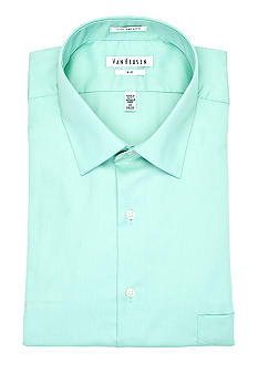 Van Heusen Big & Tall Wrinkle-Free Lux Sateen Dress Shirt