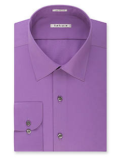 Van Heusen Big & Tall Wrinkle Free Solid Sateen Dress Shirt