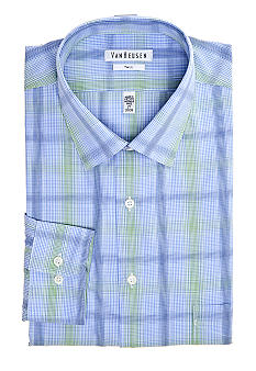 Van Heusen Big & Tall Wrinkle Free Plaid Dress Shirt
