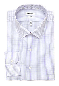 Van Heusen Big & Tall Check Dress Shirt