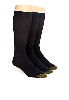 Gold Toe 3-Pack Metropolitan Dress Socks
