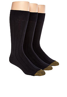 Gold Toe 3-Pack Hampton Luxurious Socks