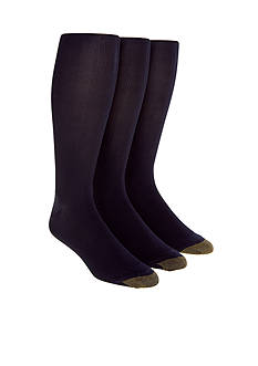 Gold Toe 3-Pack Metropolitan Over the Calf Socks