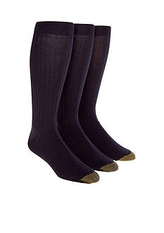 Gold Toe 3-Pack Canterbury Over the Calf Socks