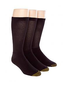 Gold Toe 3-Pack Uptown Crew Socks