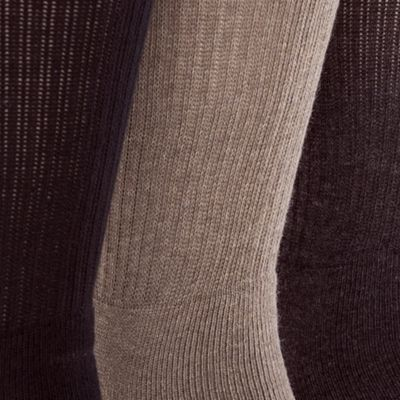 Mens Casual Socks: Pack B Gold Toe 3-Pack Uptown Crew Socks
