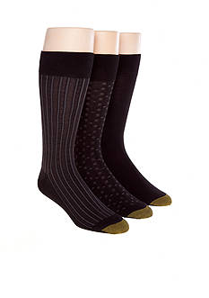 Gold Toe 3-Pack Fashion Socks